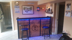 Custom handmade bar in Kelowna