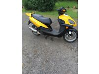 Pioneer 2006 125 scooter for spares or repairs