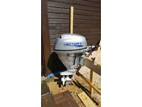 Vector 25hp outboard motor , only done three hours work