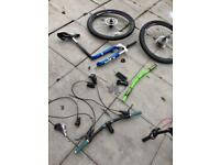 Mountain bike/Jump Bike parts
