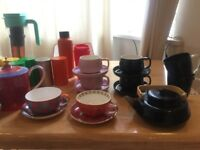 T2 Teaware cups, saucers, tins, teapots MUST SELL