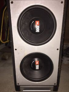 2 12 inch JBL subs