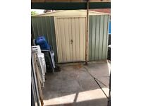 For sale metal shed