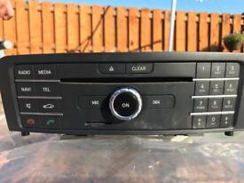 Mercedes CLA 180 W117 car stereo
