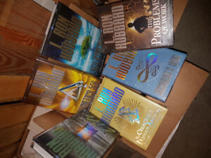 L Ron Hubbard Scientology books and CD lectures