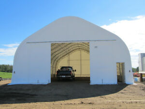 40'W x 60'L Portable Fabric Covered Building