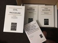 White Book (Civil Procedure Rules) 2016and Blackstones (Criminal Practice) 2017 (collection only)