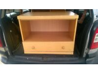 good condition wooden tv unit stand