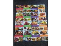 Set of 17 cook books