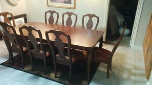 Complete Solid Mahagany  Dining Room