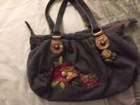 Grey handbag by Accessorize