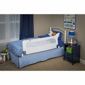"""Swing Down 56-Inch Extra Long and 19"""" high Safety Bed Rail,"""