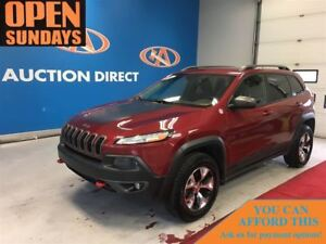 2014 Jeep Cherokee Trailhawk 4X4! LEATHER! FINANCE NOW!