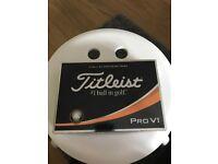 Brand new Pro V1 Titleist golf balls