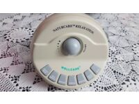 Naturecare Sounds Machine (110) helps restful nights sleep with soothing sounds.