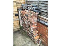 Bricks and coping stones