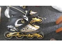 K2 moto extreme inline skates size 12