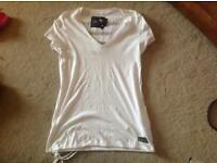 Ladies G-Star white top