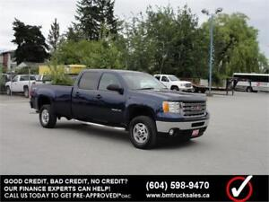 2013 GMC SIERRA 2500HD SLE CREW CAB LONG BOX 4X4