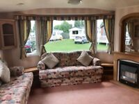 Cheap super wide static caravan for sale on the beach