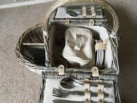 M&S new and unused picnic hamper for 4