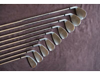 Ram Concept II Irons & Ram FX V woods, Howson putter all Right Handed