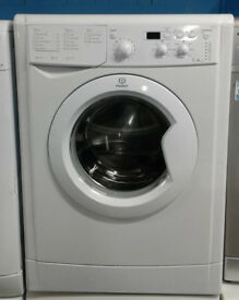 O338 white indesit 7kg 1400spin A rated washing machine comes with warranty can be delivered