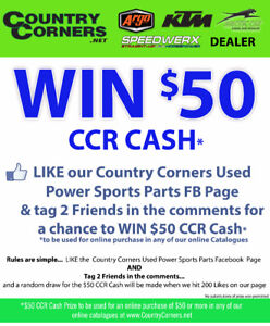 LIKE OUR FACEBOOK PAGE FOR A CHANCE TO WIN $50 IN CCR CASH