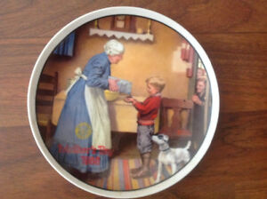 Norman Rockwell Mothers' Day Collector Plates