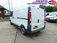 VAUXHALL VIVARO 2.0CDTi 115ps 6 SPEED 2900 LWB AIR CON SAME DAY FINANCE