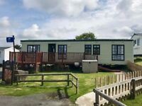 Holiday Home Caravan With Decking, Sea Views And Allocated Parking