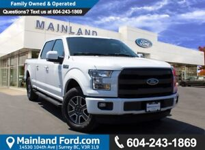 2016 Ford F-150 Lariat LOW KM'S, LOCAL, NO ACCIDENTS