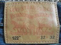 Mens Levi 522 Jeans
