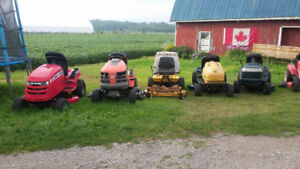 LOTS of Great Riding Mowers!!