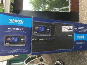 Sirius Satelite Radio and Speaker Dock