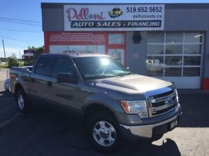 2013 Ford F-150 XLT 5.0L 4x4 CREW CAB NO ACCIDENTS