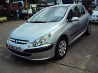 Peugeot 307 LX 16v AUTOMATIC – 5 Door – CLEARANCE PRICE - £499