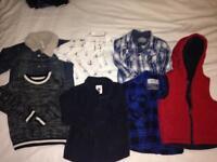 Boys clothes bundle 18-24,2-3&3-4