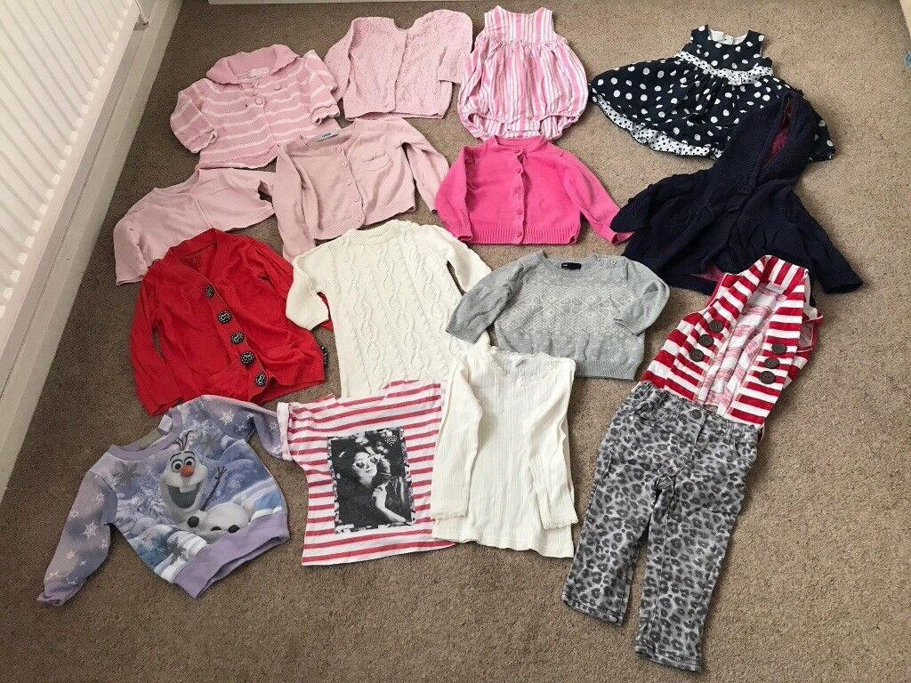 Baby clothes bundle approx age 3 18 monthsin Bexleyheath, LondonGumtree - Baby clothes bundle approx age 3 18 months 1 x Ralph Lauren all in one 1 x dress Matalan 11 x jumpers Mothercare, baby gap, TU, M&S, Monsoon, Next and George 1 x jeans Next 1 x vest H&M 1 x top River Island