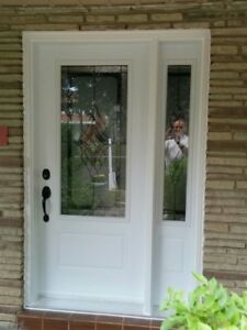 Front Entry Door and SideLight 2