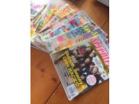 Seventeen magazine (imported from USA) dated mainly 2013 - 2015 17 in total
