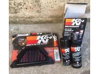 Yamaha XJ6 K&N filter