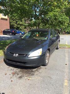 2005 Honda Accord - MVI til 2019