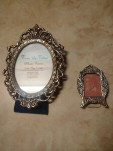 Two Small Metal Frames