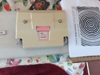 Singer Magic Memory Knitting Machine with Lace attachment and punched cards