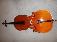 Antique German Cello - 3/4 size