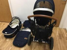 Joolz Earth Day Parrot Blue pushchair