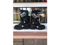 Kids mx racing boots
