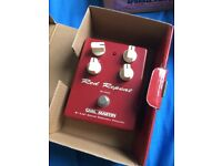 Carl Martin Red Repeat Analogue Delay Pedal