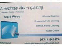 Amazing clean glazing
